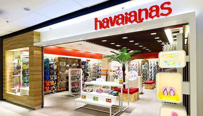 Maiores franquias - Havaianas