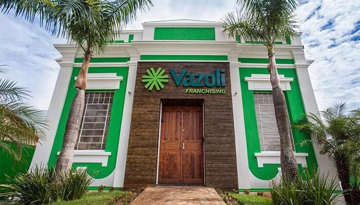 Franquias de serviços:FRANQUIA VAZOLI