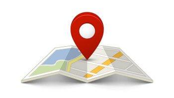 localização das sedes das franquias no Brasil
