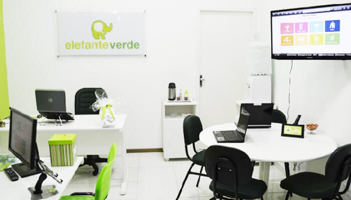 Franquias de serviços:FRANQUIA ELEFANTE VERDE