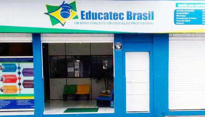Franquias até 50 mil: FRANQUIA EDUCATEC BRASIL