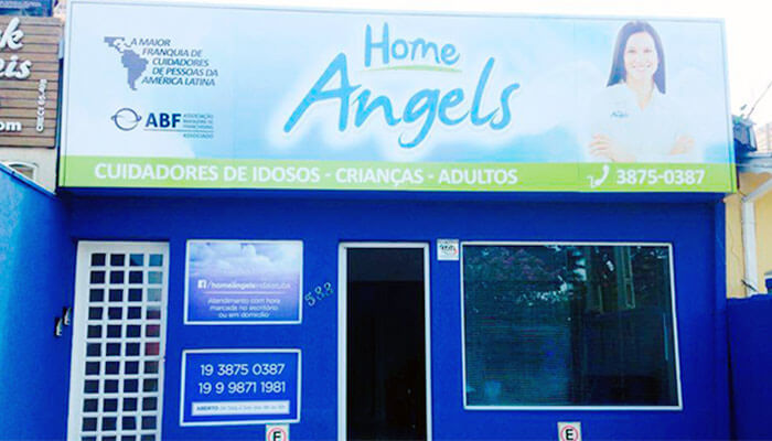 Franquias de Saúde, Beleza e Bem Estar: FRANQUIA HOME ANGELS