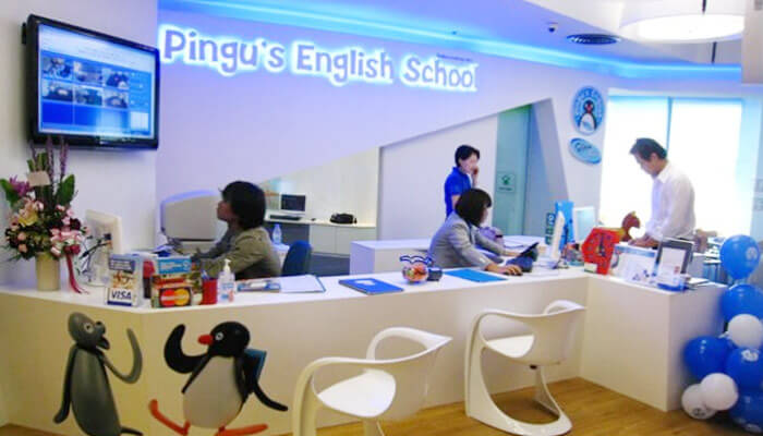 Franquias até 50 mil: FRANQUIA PINGU´S ENGLISH CENTER