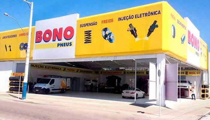 Franquias de serviços: FRANQUIABONO PNEUS