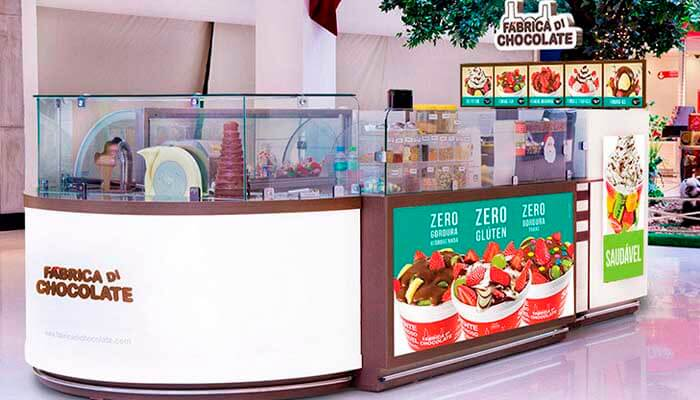 Franquias até R$ 100 mil - Fábrica Di Chocolate