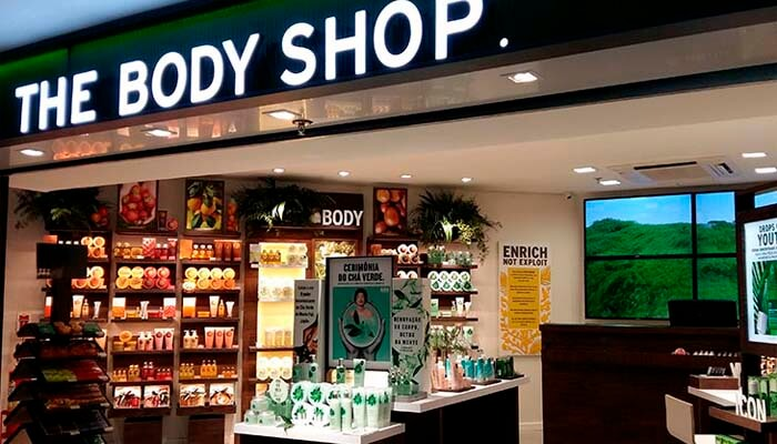 Franquias estrangeiras - The Body Shop