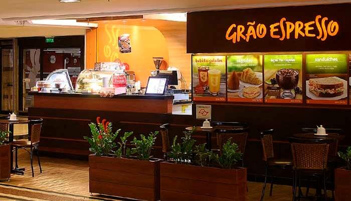 Franquias de Cafeterias:FRANQUIAGRÃO ESPRESSO CAFETERIA