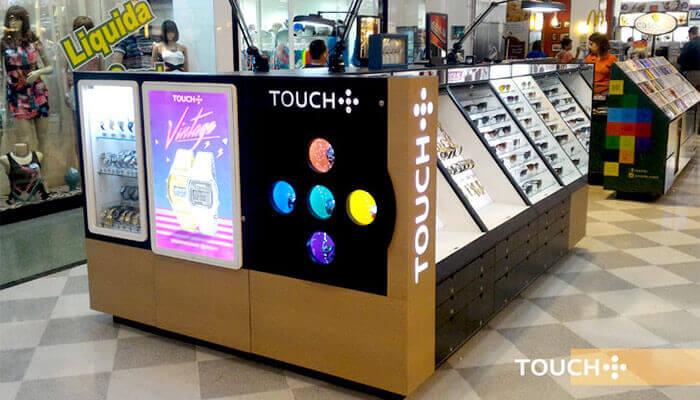 Franquias de presentes - Touch