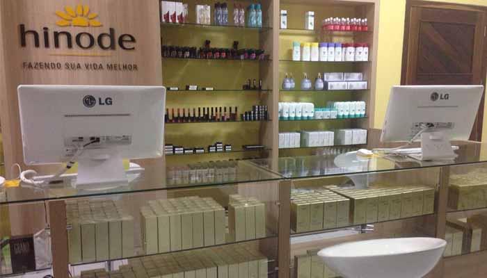Franquias de Cosméticos e Perfumaria: franquia Hinode