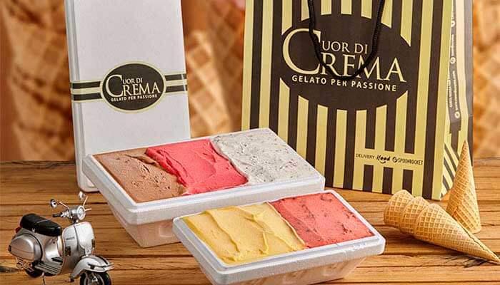 franquias de sorveteria - cuordicrema