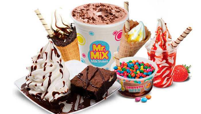 Franquias de Sorvetes - FRANQUIA MR. MIX – MILK SHAKES