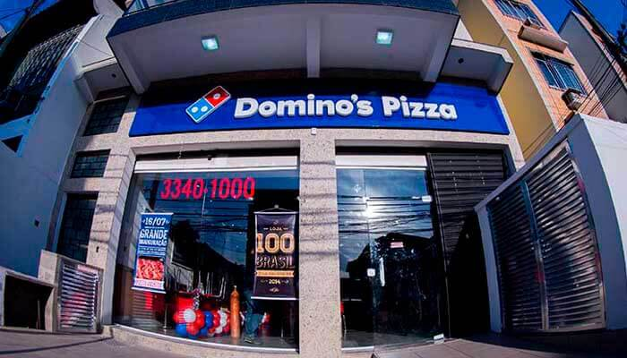 5 Franquias de Pizzarias - FRANQUIA DOMINO`S PIZZA