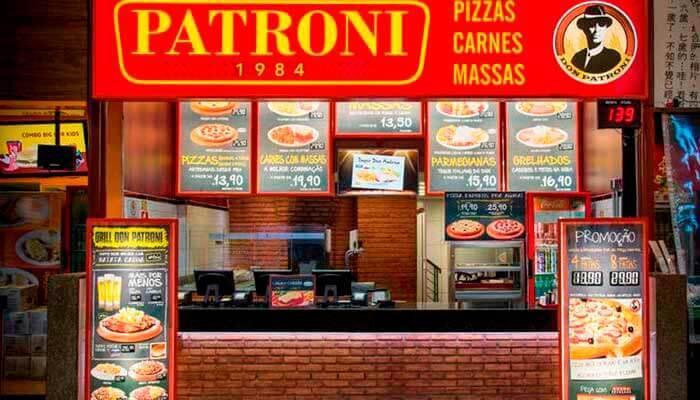 Franquias em São Paulo - Patroni Pizza