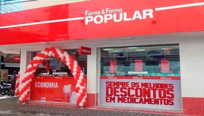 Franquias de Farmácias:Franquia Farma & Farma Popular