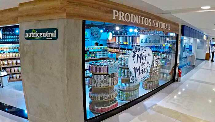 Franquia de Produtos Naturais: FRANQUIA NUTRI CENTRAL