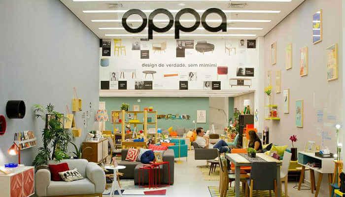 Franquias de móveis e colchões - Oppa