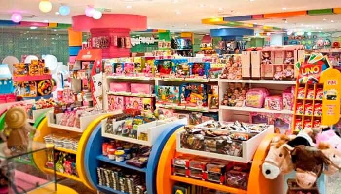 franquias de brinquedos e lazer