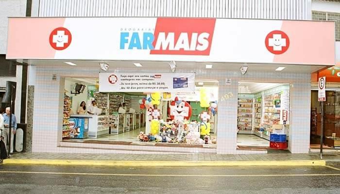 Franquias de farmácias: franquia Drogarias Farmais