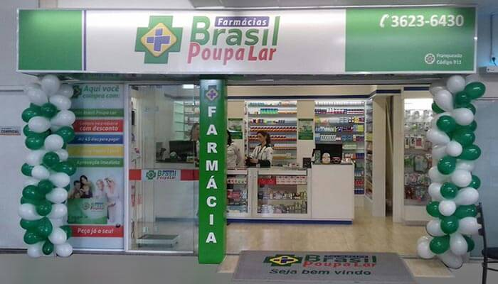 Franquias de Farmácias: Farmácias Brasil Poupa Lar