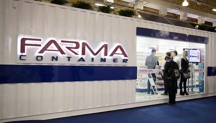 Franquia de farmácias: franquia Farma Container