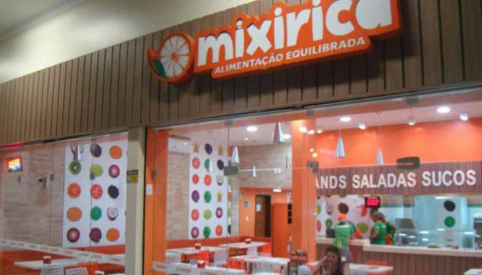 Franquias de Restaurantes FRANQUIAMIXIRICA ALIMENTAÇÃO EQUILIBRADA