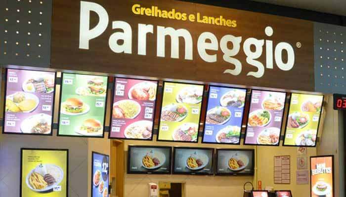 Franquias de Restaurantes FRANQUIA PARMEGGIO GRELHADOS E LANCHES