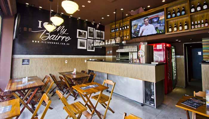 Franquias de bares - Vizinhando Gastronomia e Bar