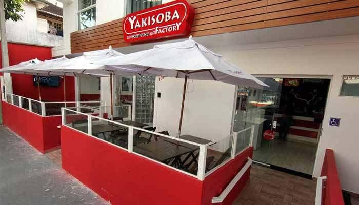 Franquias de Restaurantes FRANQUIAYAKISOBA FACTORY