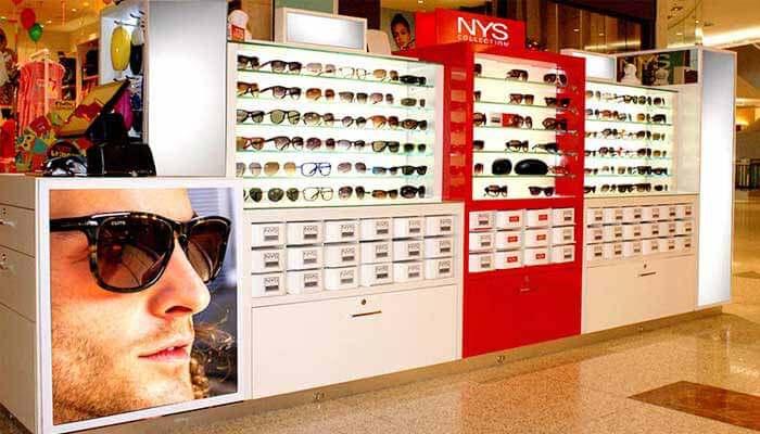 Franquias de Óculos - Franquia NYS Collection Eyewear