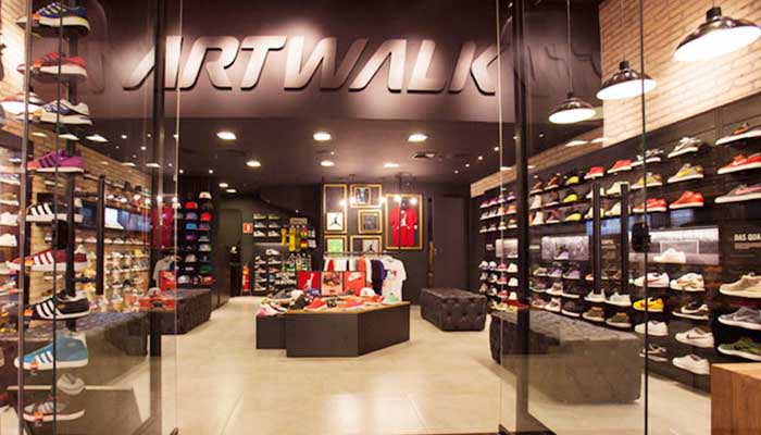 Franquias de Calçados:FRANQUIA ARTWALK