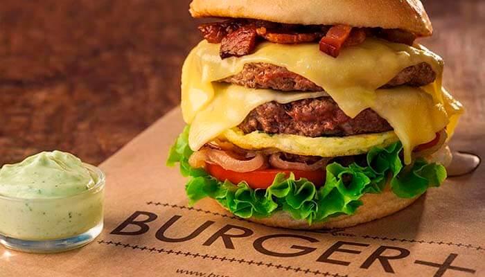 franquias de alimentação 2019 - burger+