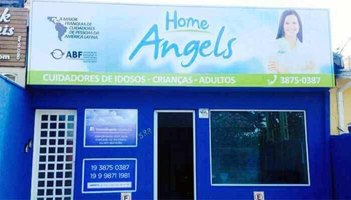Franquias de 25 até 50 mil reais -FRANQUIA HOME ANGELS
