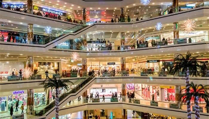 abrir uma loja em um shopping