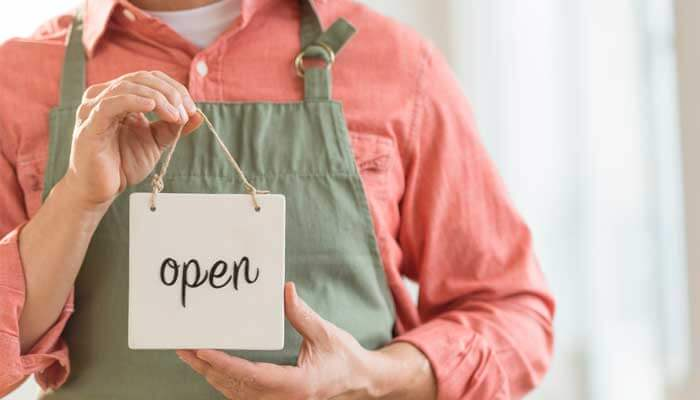 Abrir negócio próprio