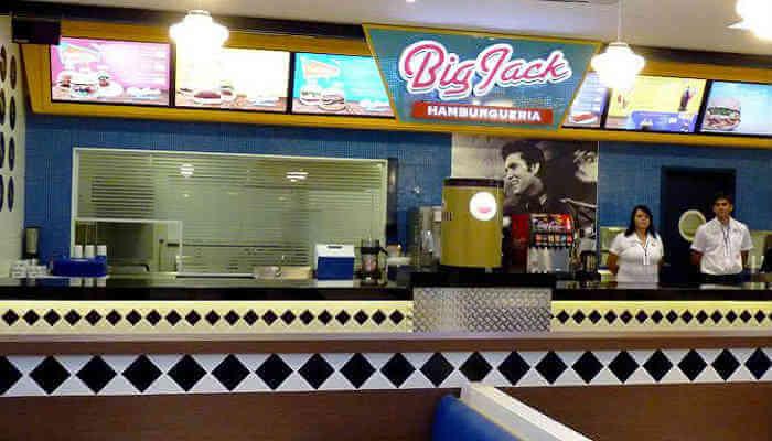 Franquias de sanduíches - Big Jack