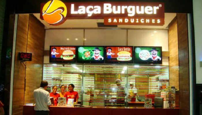 Franquias de hamburgueria - Laça Burger