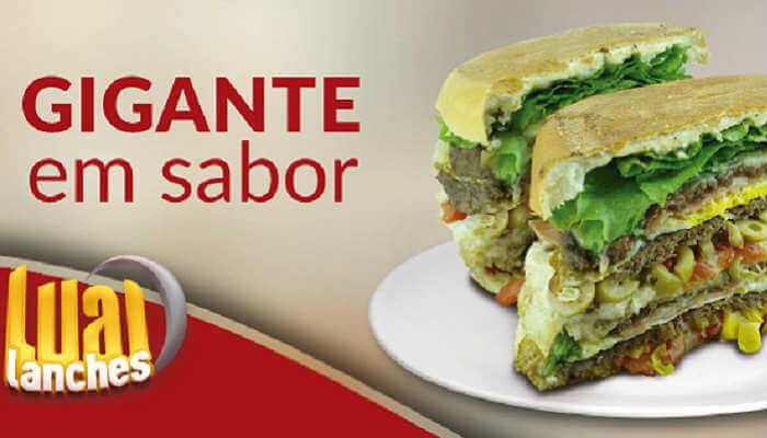 Franquias de sanduíches - Lual Lanches