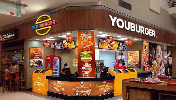 Franquias de sanduíches - Youburger