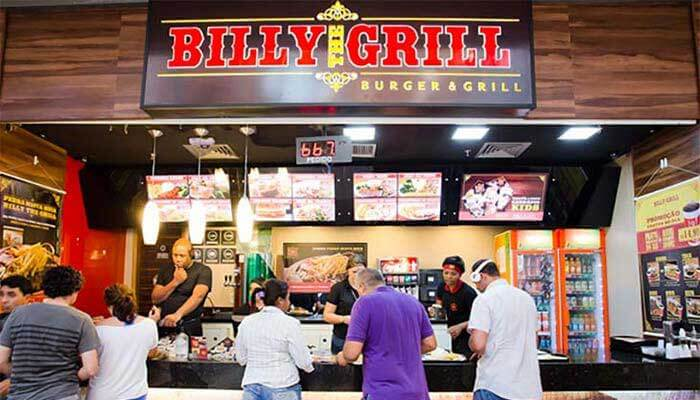 Franquias de hamburgueria - Billy The Grill