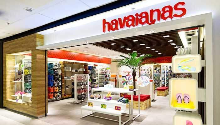 Franquias de Sucesso Franquia Havaianas