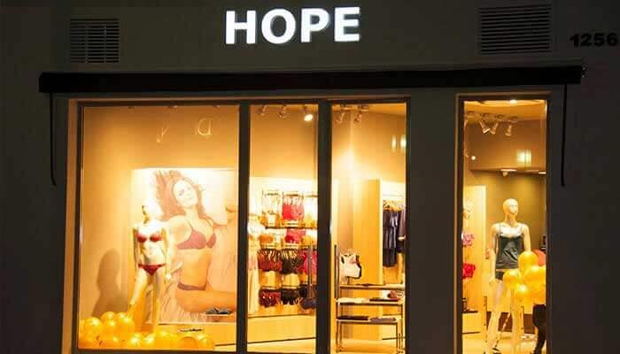 Franquias de Sucesso Franquia Hope Lingerie