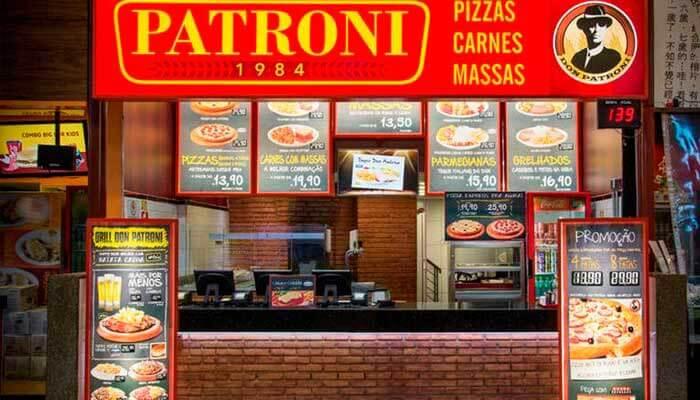 Franquias de Sucesso Franquia Patroni Pizza