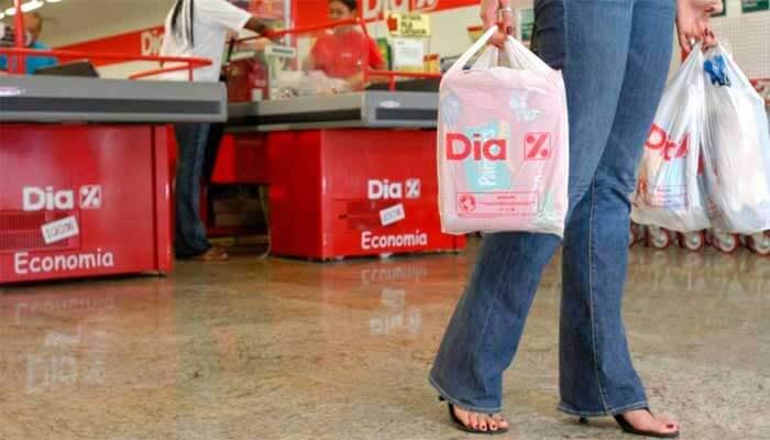 Franquia de supermercado - Dia%