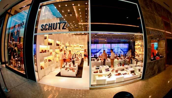 Franquia de calçados - Schutz