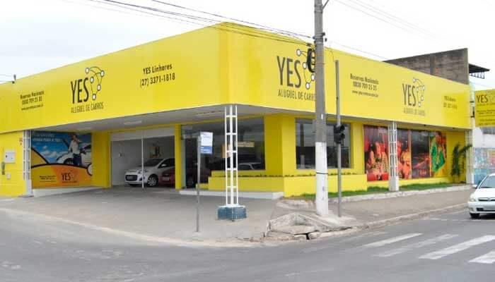 Franquia de aluguel de carros - Yes Rent a Car