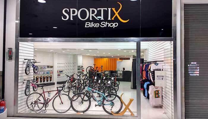 Franquias de esportes — Sportix Bike Shop