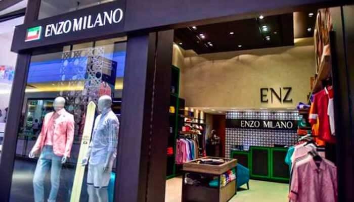Franquia de roupas - Enzo Milano
