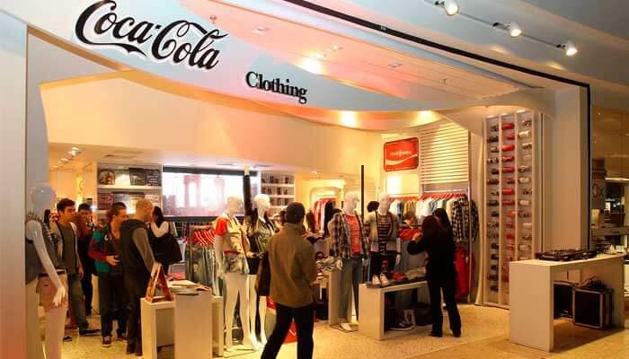 Franquia de roupa - Coca Cola Jeans