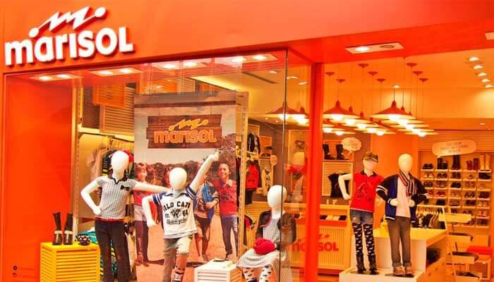 Franquia de roupas - Marisol