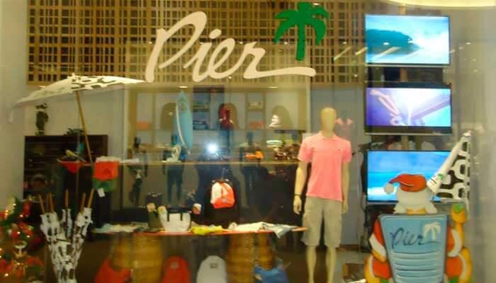 Franquia de roupas - Pier